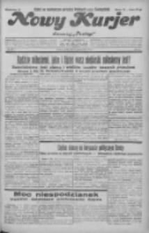"""Nowy Kurjer: dawniej """"Postęp"""" 1931.10.02 R.42 Nr227"""