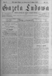Gazeta Ludowa: pismo poświęcone ludowi ewangielickiemu. 1897.02.03 R.2 nr10