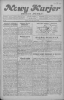 """Nowy Kurjer: dawniej """"Postęp"""" 1930.05.06 R.41 Nr104"""