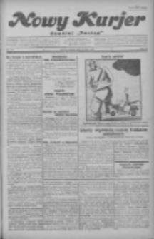 """Nowy Kurjer: dawniej """"Postęp"""" 1930.05.13 R.41 Nr110"""