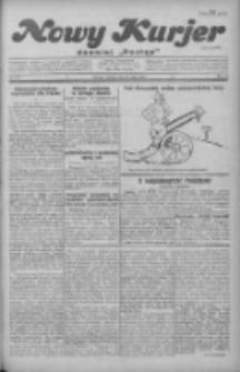 """Nowy Kurjer: dawniej """"Postęp"""" 1930.05.20 R.41 Nr116"""