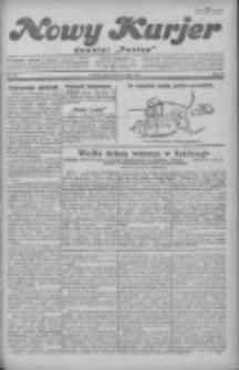 """Nowy Kurjer: dawniej """"Postęp"""" 1930.05.23 R.41 Nr119"""
