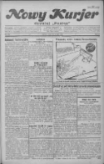 """Nowy Kurjer: dawniej """"Postęp"""" 1930.07.09 R.41 Nr156"""