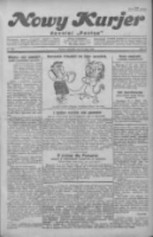"""Nowy Kurjer: dawniej """"Postęp"""" 1930.07.24 R.41 Nr169"""