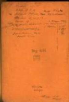 Wypisy z ksiąg metrykalnych parafii rzymskokatolickich archidiecezji gnieźnieńskiej, diecezji poznańskiej i włocławskiej z lat 1598-1831 oraz z publikacji źródłowych