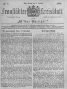 Fraustädter Kreisblatt. 1883.02.23 Nr16