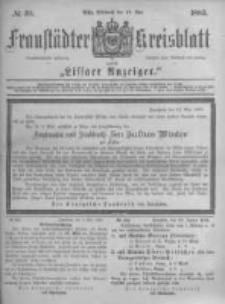 Fraustädter Kreisblatt. 1883.05.16 Nr39