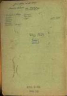 Wypisy z ksiąg metrykalnych parafii rzymskokatolickich archidiecezji gnieźnieńskiej, diecezji poznańskiej, wrocławskiej, włocławskiej, później kalisko-kujawskiej, z lat 1615-1875, z akt hipotecznych sądów w Kępnie i Gnieźnie z lat 1763-1920 oraz z herbarza