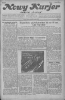 """Nowy Kurjer: dawniej """"Postęp"""" 1930.08.19 R.41 Nr190"""