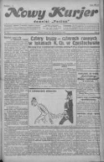 """Nowy Kurjer: dawniej """"Postęp"""" 1930.10.18 R.41 Nr242"""