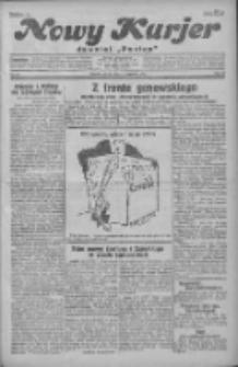 """Nowy Kurjer: dawniej """"Postęp"""" 1931.01.24 R.42 Nr19"""