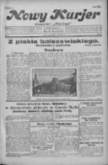 """Nowy Kurjer: dawniej """"Postęp"""" 1931.03.21 R.42 Nr66"""