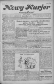 """Nowy Kurjer: dawniej """"Postęp"""" 1931.03.27 R.42 Nr71"""