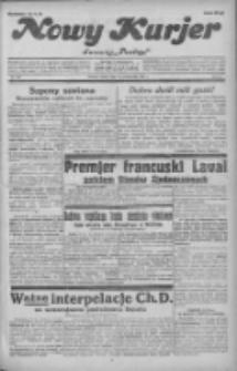 """Nowy Kurjer: dawniej """"Postęp"""" 1931.10.24 R.42 Nr246"""
