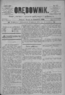 Orędownik: pismo poświęcone sprawom politycznym i spółecznym 1885.04.29 R.15 Nr97