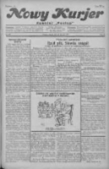 """Nowy Kurjer: dawniej """"Postęp"""" 1930.08.26 R.41 Nr196"""
