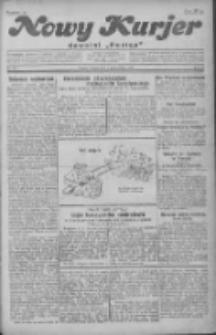 """Nowy Kurjer: dawniej """"Postęp"""" 1930.10.04 R.41 Nr230"""