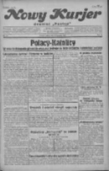 """Nowy Kurjer: dawniej """"Postęp"""" 1930.11.22 R.41 Nr271"""
