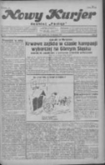"""Nowy Kurjer: dawniej """"Postęp"""" 1930.11.29 R.41 Nr277"""