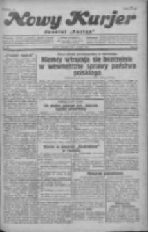 """Nowy Kurjer: dawniej """"Postęp"""" 1930.12.04 R.41 Nr281"""