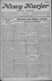 """Nowy Kurjer: dawniej """"Postęp"""" 1930.12.11 R.41 Nr286"""