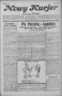 """Nowy Kurjer: dawniej """"Postęp"""" 1931.07.22 R.42 Nr166"""