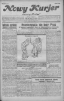 """Nowy Kurjer: dawniej """"Postęp"""" 1931.08.08 R.42 Nr181"""