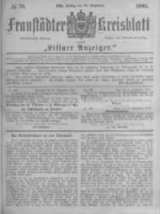 Fraustädter Kreisblatt. 1883.09.28 Nr78