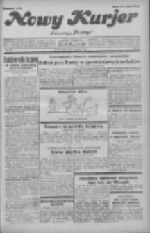"""Nowy Kurjer: dawniej """"Postęp"""" 1931.06.06 R.42 Nr128"""
