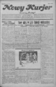 """Nowy Kurjer: dawniej """"Postęp"""" 1931.09.15 R.42 Nr212"""