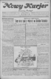 """Nowy Kurjer: dawniej """"Postęp"""" 1931.09.22 R.42 Nr218"""