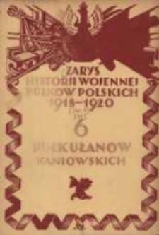 Zarys historji wojennej 6-go Pułku Ułanów Kaniowskich