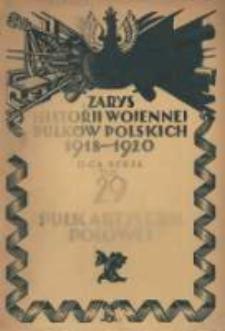 Zarys historji wojennej 29-go Litewsko-Białoruskiego Pułku Artylerji Polowej