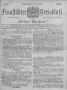 Fraustädter Kreisblatt. 1884.01.16 Nr5
