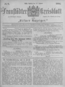 Fraustädter Kreisblatt. 1884.01.18 Nr6