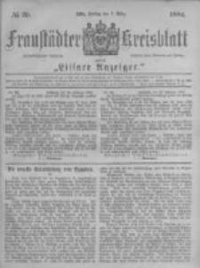 Fraustädter Kreisblatt. 1884.03.07 Nr20
