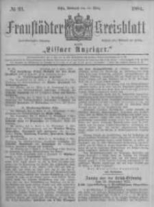 Fraustädter Kreisblatt. 1884.03.12 Nr21