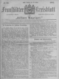 Fraustädter Kreisblatt. 1884.03.28 Nr26