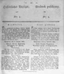Oeffentlicher Anzeiger zum Amtsblatt No.3. der Königl. Preuss. Regierung zu Bromberg. 1838