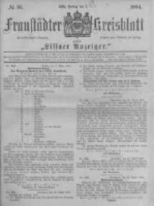 Fraustädter Kreisblatt. 1884.05.02 Nr36