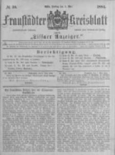 Fraustädter Kreisblatt. 1884.05.09 Nr38