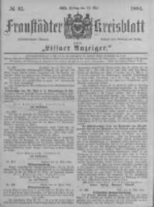 Fraustädter Kreisblatt. 1884.05.23 Nr42