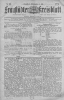 Fraustädter Kreisblatt. 1884.07.01 Nr53