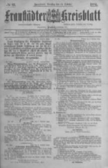 Fraustädter Kreisblatt. 1884.10.14 Nr83