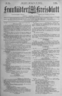 Fraustädter Kreisblatt. 1884.10.17 Nr84