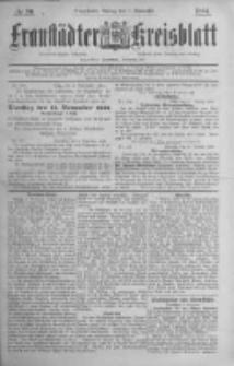 Fraustädter Kreisblatt. 1884.11.07 Nr90