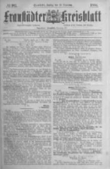 Fraustädter Kreisblatt. 1884.12.19 Nr102