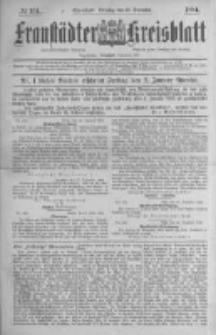 Fraustädter Kreisblatt. 1884.12.30 Nr104