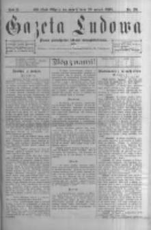 Gazeta Ludowa: pismo poświęcone ludowi ewangielickiemu. 1898.03.26 R.3 nr25