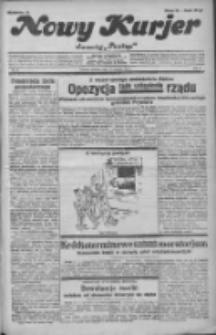 """Nowy Kurjer: dawniej """"Postęp"""" 1932.01.17 R.43 Nr13"""